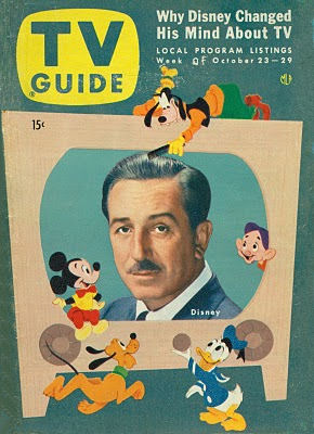 TV Guide Featuring Disneyland