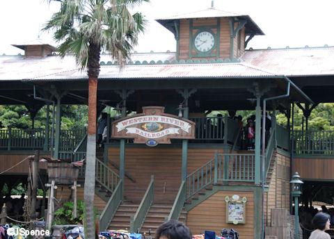 Adventureland Train Station