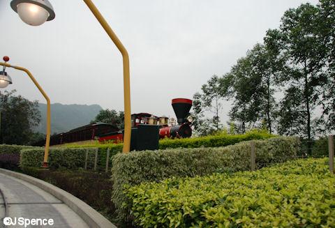 Autopia and Steam Train