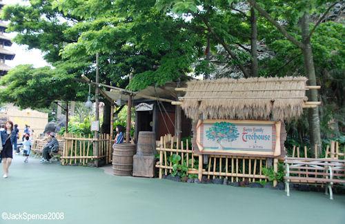 Swiss Family Treehouse Adventureland Tokyo Disneyland