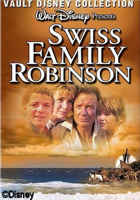 Swiss Family Treehouse DVD