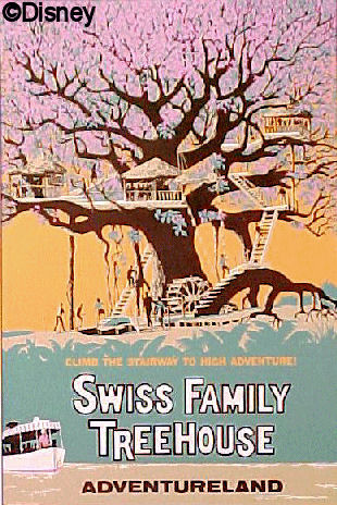 Swiss Family Treehouse Poster