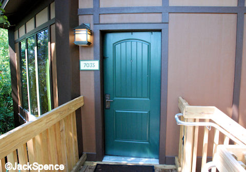 Treehouse Villas Front Door