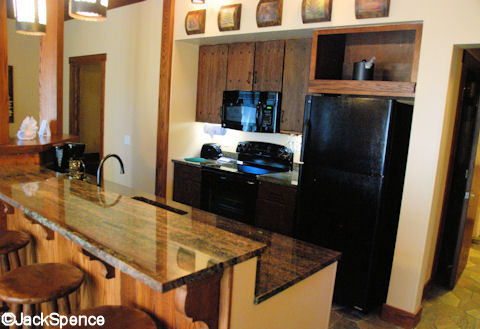 Treehouse Villas Kitchen Area