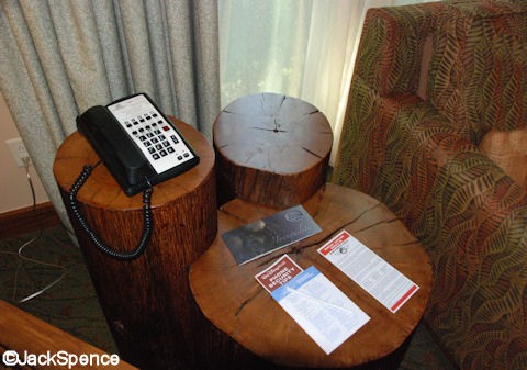 Treehouse Villas Hidden Mickey End Table