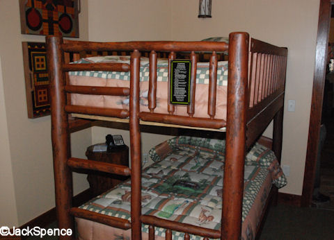 Treehouse Villas Bunkbed Room