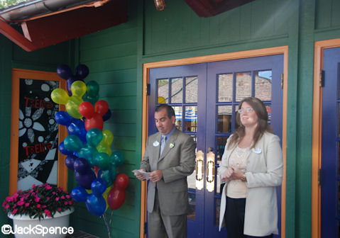 Tren-D Downtown Disney Official Opening