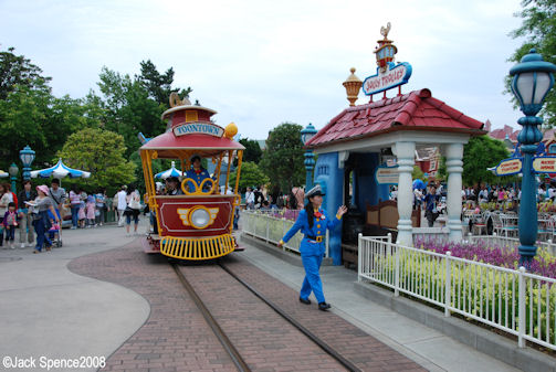 Jolly Trolley Tokyo Disneyland