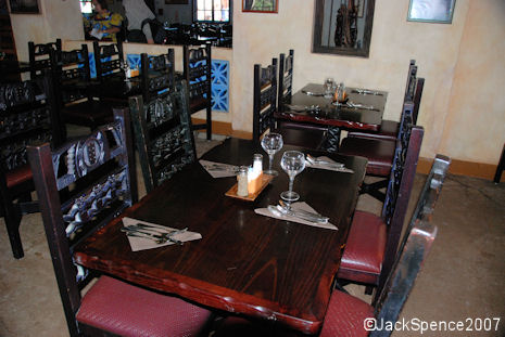 Tusker House Table