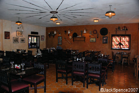 Tusker House Restaurant Seating