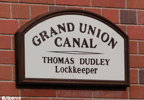 Grand Union Canal Plaque