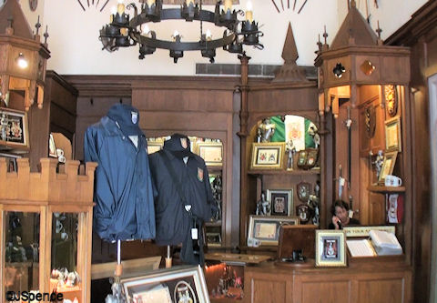 Crown and Crest Shop Interior