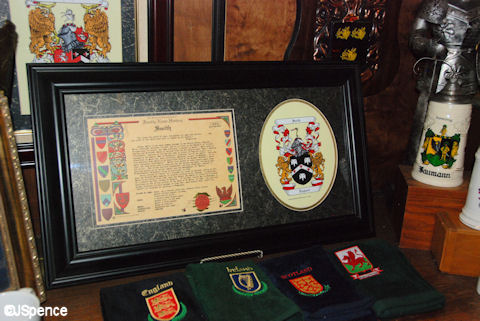 Coat of Arms Framed
