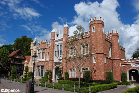 Hampton Court Palace Disney Style