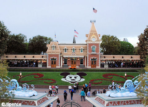 Disneyland Main Entrance