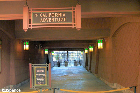 DCA Private Entrance