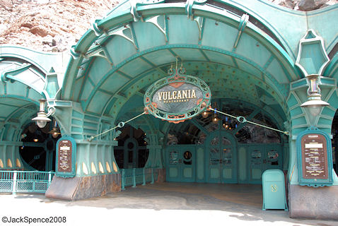 Vulcania Restaurant at Mysterious Island at Tokyo DisneySea