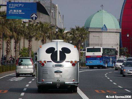 Bus to Tokyo Disneyland