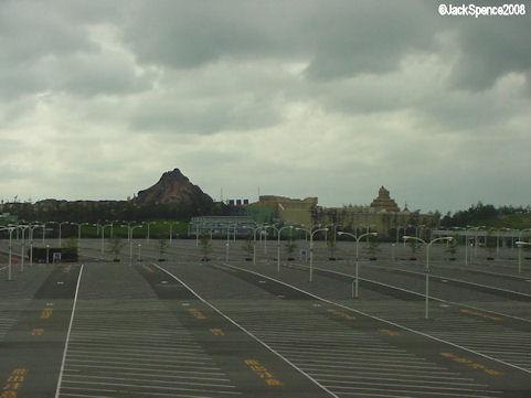 Tokyo Disneyland Parking Lot