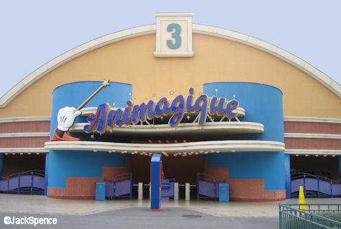 Walt Disney Studios Park Toon Studio Animagique