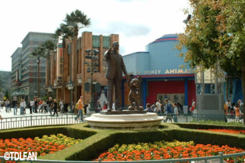 Walt Disney Studios Park Toon Studio Animation Building
