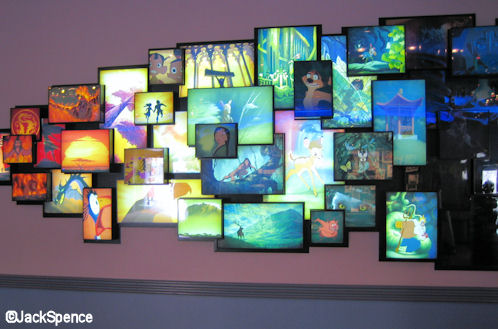 Walt Disney Studios Park Toon Studio Art of Disney Animation