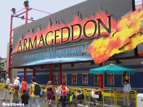 Walt Disney Studios Park Paris Armageddon