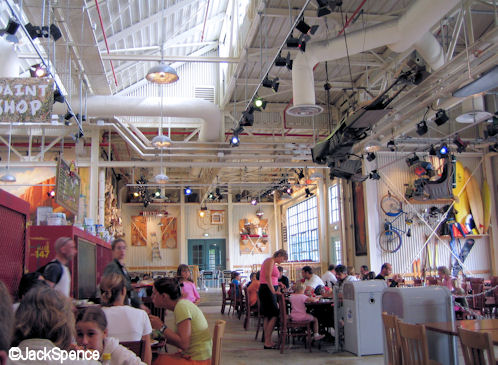 Walt Disney Studios Park Paris Backlot Express Restaurant