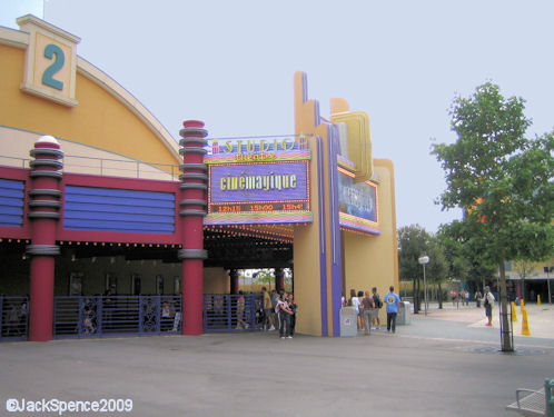 Walt Disney Studios Park Paris Production Courtyard CineMagique