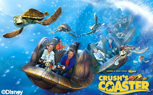 Walt Disney Studios Park Toon Studio Crush's Coaster