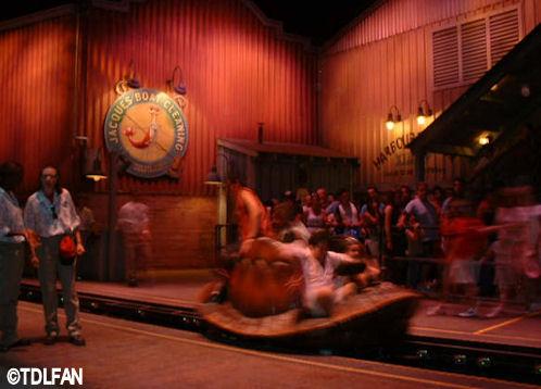 Walt Disney Studios Park Toon Studio Crush's Coasterpg