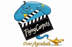 Walt Disney Studios Park Toon Studio Flying Carpets Over Agrabah
