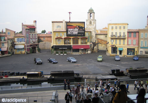 Walt Disney Studios Park Paris Moteurs