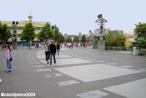 Walt Disney Studios Park Paris Production Courtyard