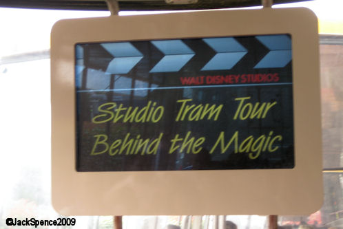 Walt Disney Studios Park Paris Production Courtyard Studio Tram Tour®:  Behind the Magic