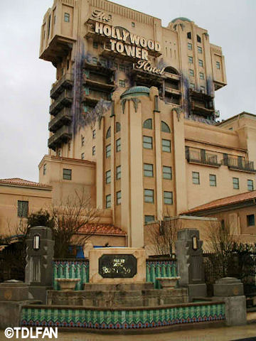 Walt Disney Studios Park Paris Production Courtyard The Twilight Zone Tower of Terror