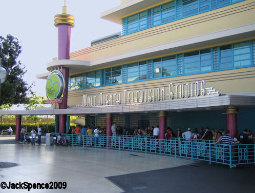 Walt Disney Studios Park Paris Production Courtyard  Television Studios