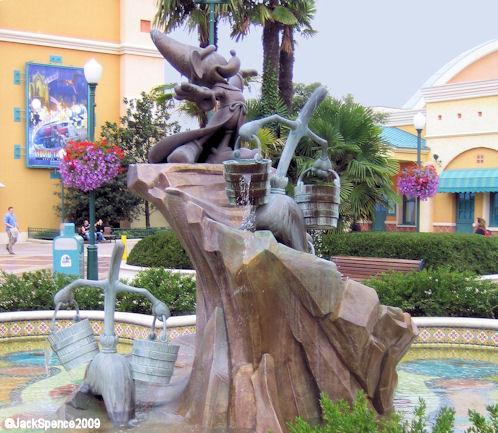 Disneyland Paris Walt Disney Studio Park Sorcerer's Appretice