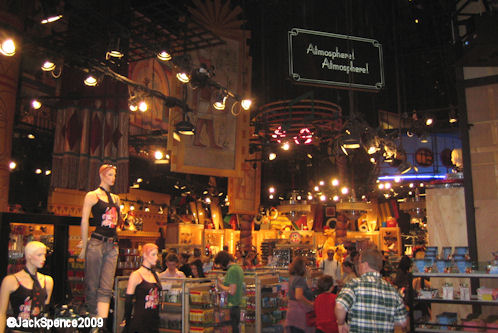 Disneyland Paris Walt Disney Studios Park Restaurant en Coulisse