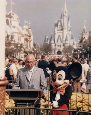 Walt Disney World Opening Day