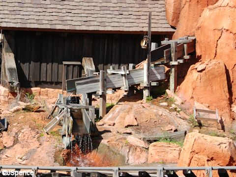 Big Thunder Mountain Trough
