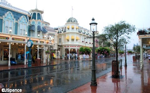 Raining on Main Street