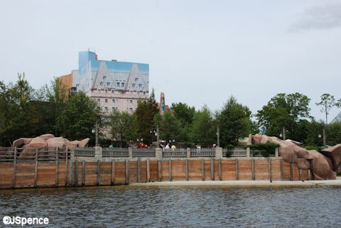 Canada Pavilion on World Showcase Lagoon