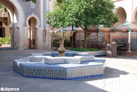 Morocco Fountain