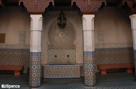 Fez House Fountain