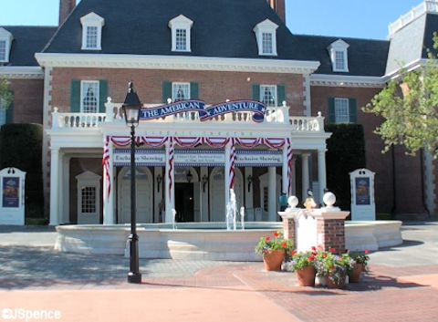 American Adventure Fountain