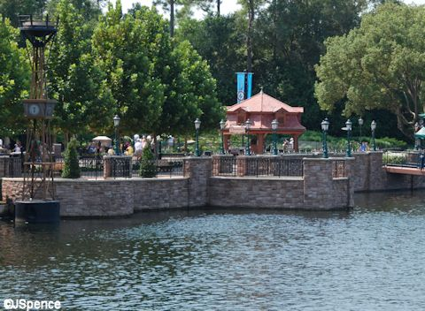 Germany Pavilion on World Showcase Lagoon