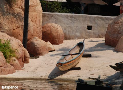 African Outpost on World Showcase Lagoon