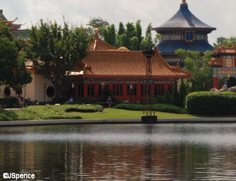 China Pavilion on World Showcase Lagoon