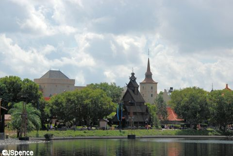 Norway Pavilion on World Showcase Lagoon